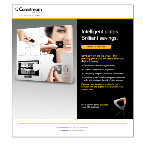Carestream Dental Email 2