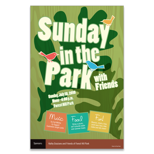Poster for Sunday in the Park